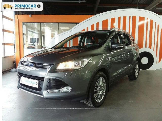 ford kuga 2 0 tdci 140ch titanium occasion pas cher primocar. Black Bedroom Furniture Sets. Home Design Ideas