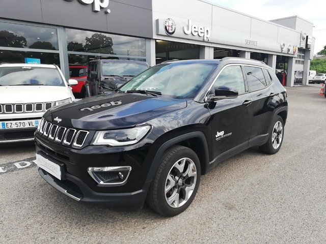 jeep compass occasion 1 6 multijet ii 120ch limited 4x2 reims hes2 vdjt106625. Black Bedroom Furniture Sets. Home Design Ideas