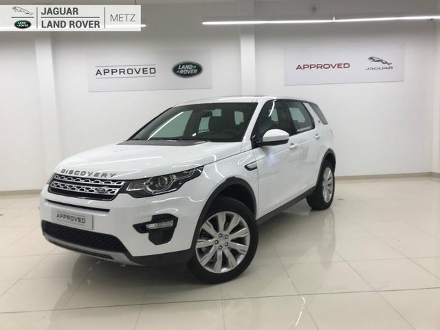 Voiture Occasion Land Rover Discovery Sport Metz Toyota Metz