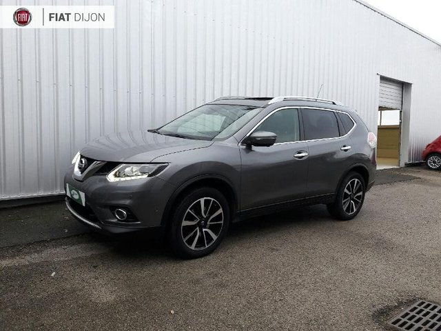nissan x trail occasion 1 6 dci 130ch tekna 7 places. Black Bedroom Furniture Sets. Home Design Ideas
