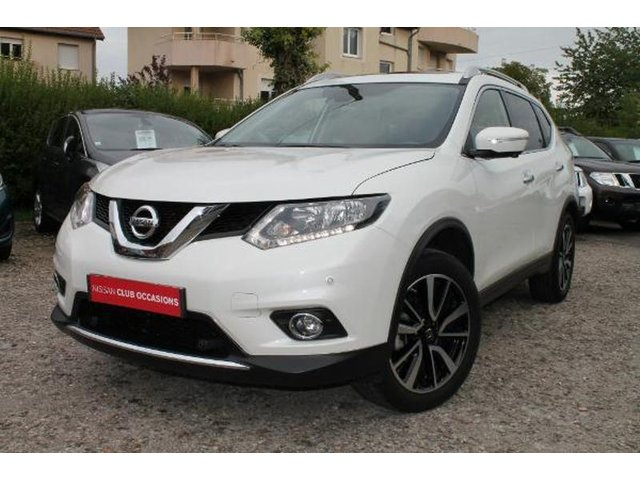 nissan x trail occasion 2 0 dci 177ch n connecta xtronic 7. Black Bedroom Furniture Sets. Home Design Ideas