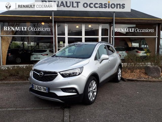 Opel mokka x occasion 1 4 turbo 140ch innovation 4x2 for Garage st etienne