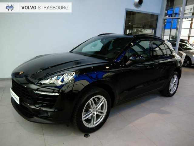 porsche macan occasion 3 0 v6 258ch s diesel strasbourg hes9 502668. Black Bedroom Furniture Sets. Home Design Ideas