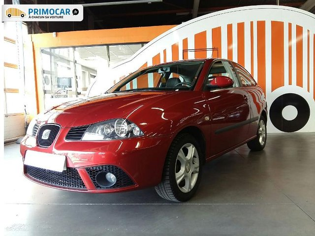 seat ibiza 1 4 16v 85ch sport edition 3p occasion pas cher primocar. Black Bedroom Furniture Sets. Home Design Ideas