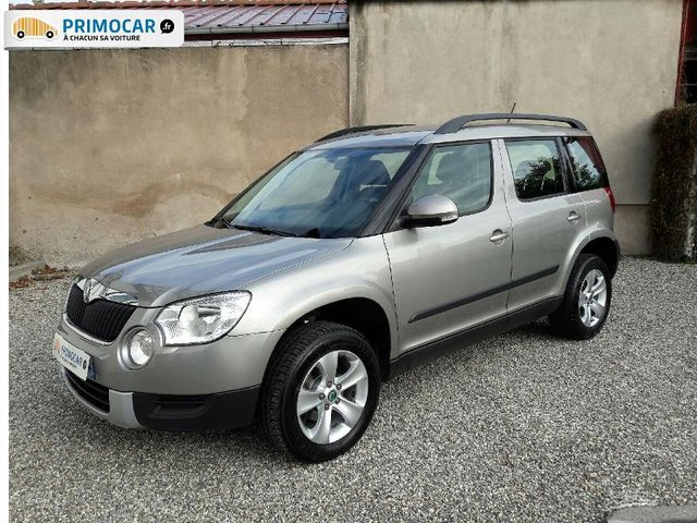 skoda yeti 2 0 tdi110 cr ambition 4x2 1er main. Black Bedroom Furniture Sets. Home Design Ideas