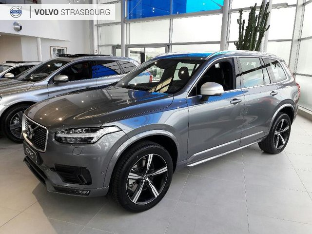 volvo xc90 d5 awd 235ch r design geartronic 7 places occasion hes9 vd382296. Black Bedroom Furniture Sets. Home Design Ideas