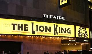 Lion King Edinburgh