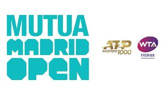Mutua Madrid Open 2021 - Finals Pass (2 Sessions - Saturday Night & Sunday)