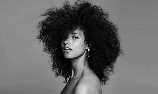 Alicia Keys Bordeaux