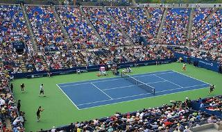 US Open Tennis Grandstand Day Session August 31