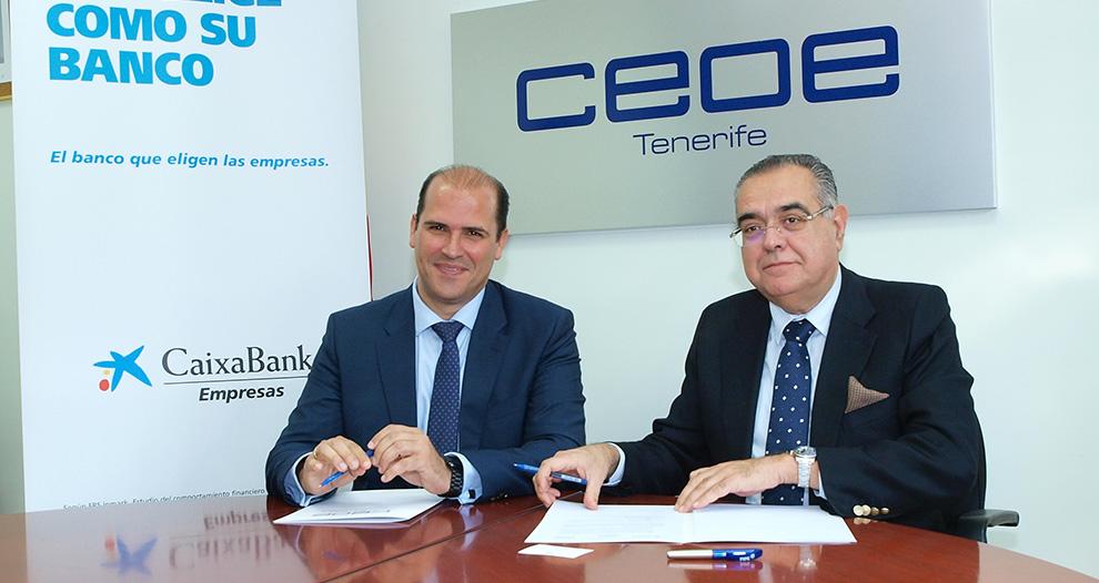 caixabank-ceoe-tenerife-renuevan-acuerdo-colaboracion-financiacion-empresas