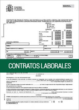 Contratos de trabajo sepe cepymenews for Modelo contrato indefinido