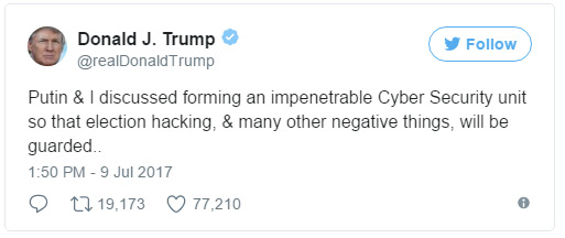 tuit-donald-trump-ciberseguridad-g20