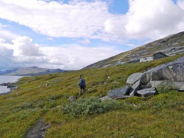 Gjenoppstått historisk stoppested på Saltfjellet