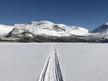 Is - og snøforhold i fjellet i Nordland og Troms 26. mars 2018