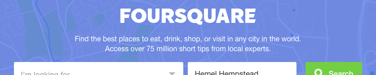 Full listing of mayor and check-in rewards in UK for Foursquare