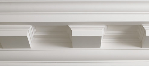 MG09 Mid Georgian Dentil Cornice
