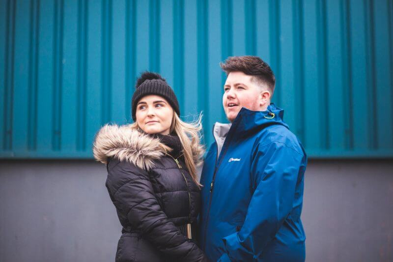 Liverpool Pre Wedding Shoot Docks