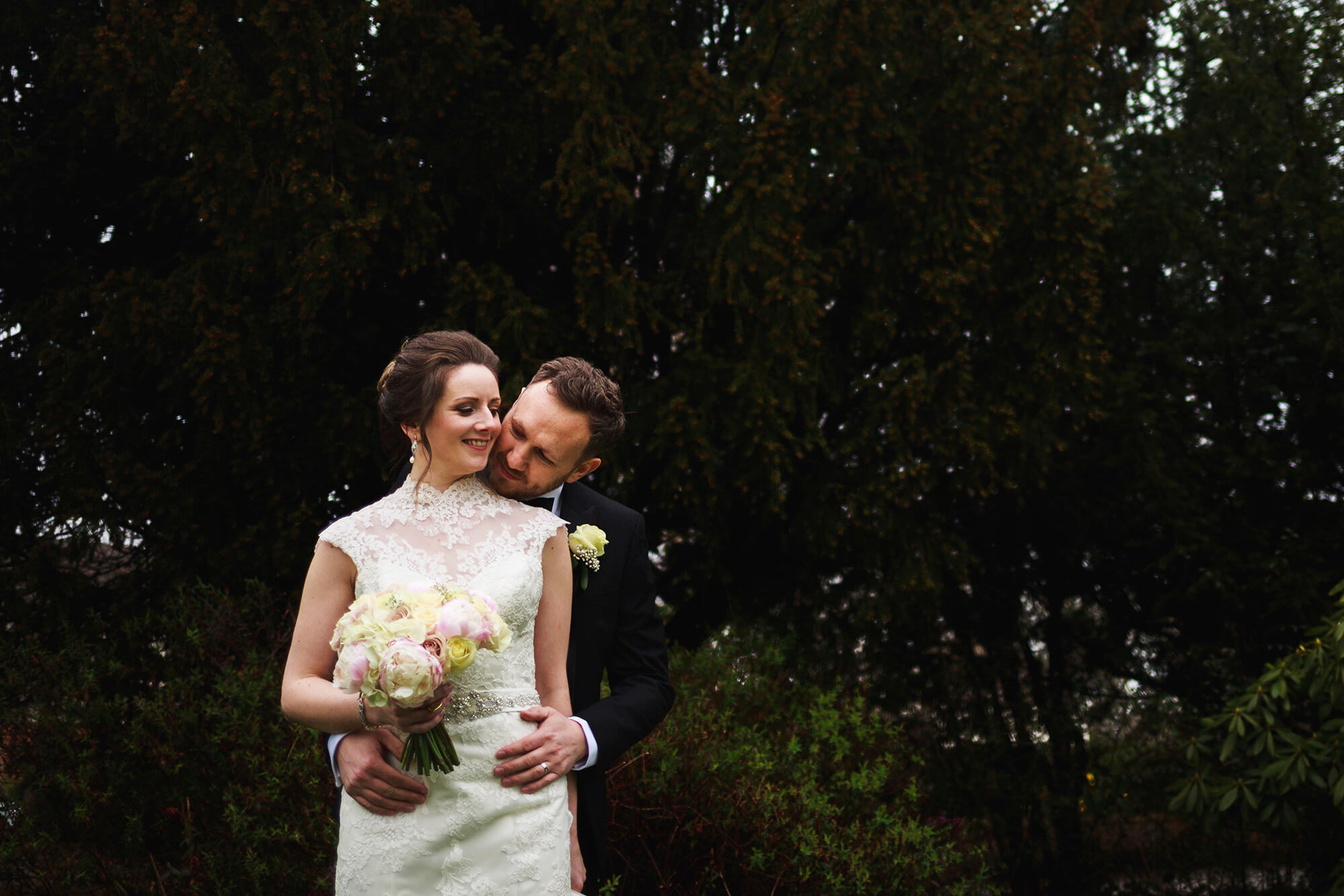 Crabwall Manor Couple Just Married