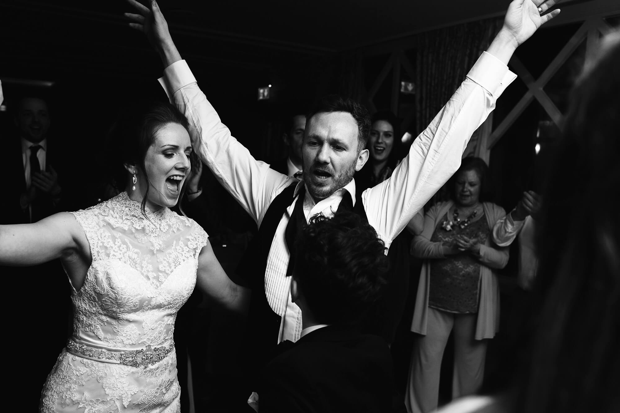 dance floor celebrations at crabwall manor