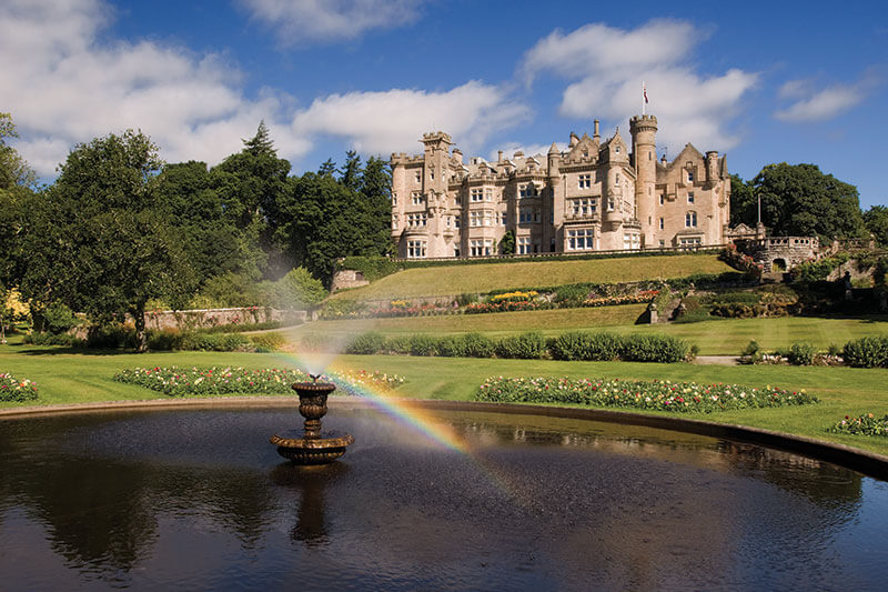 luxury wedding venue skibo castle