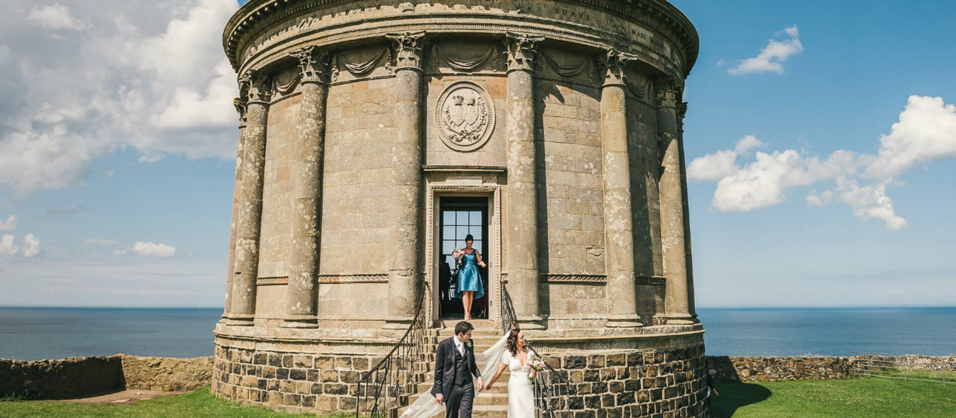 Mussenden Temple Wedding