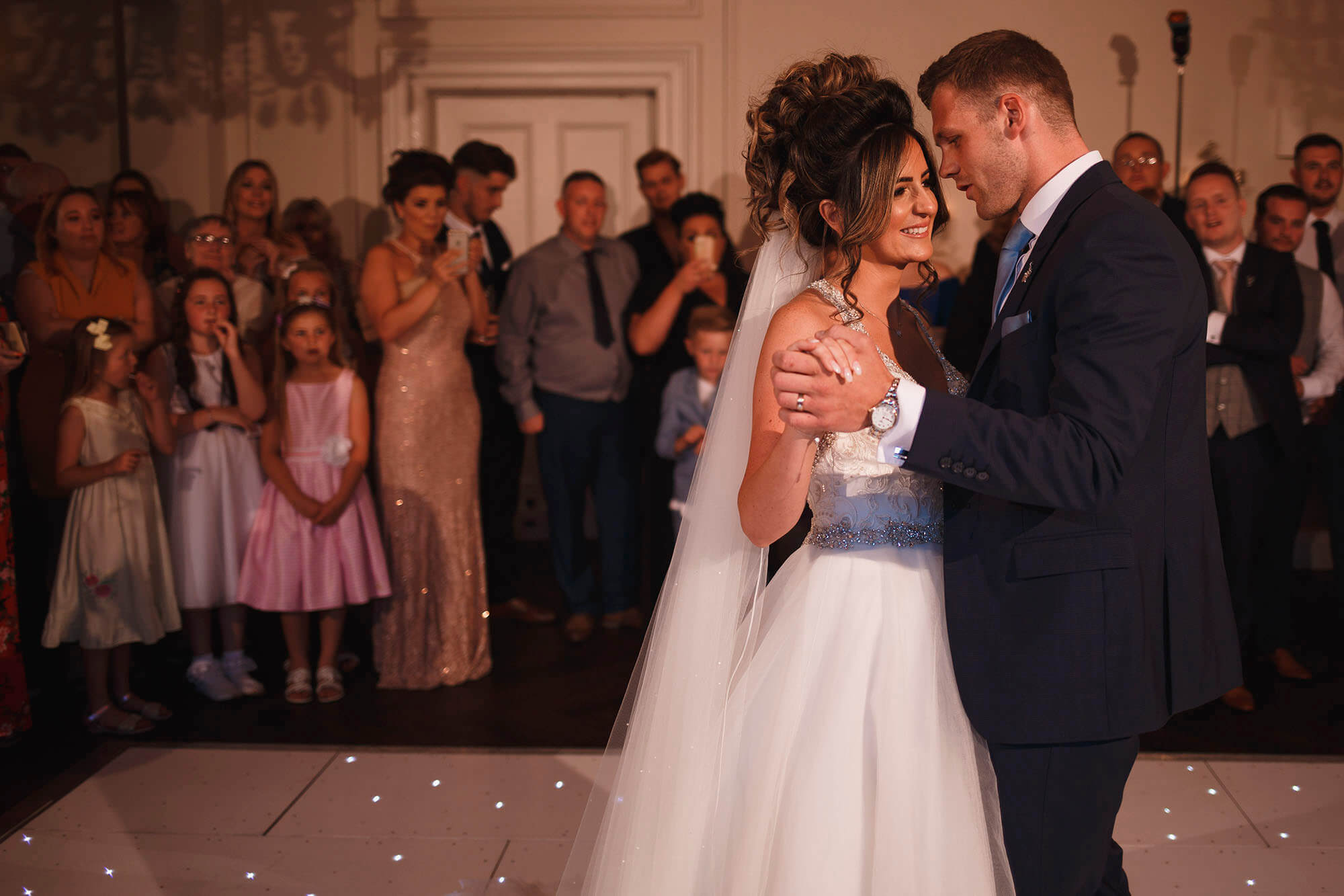 first dance at Ashfield house