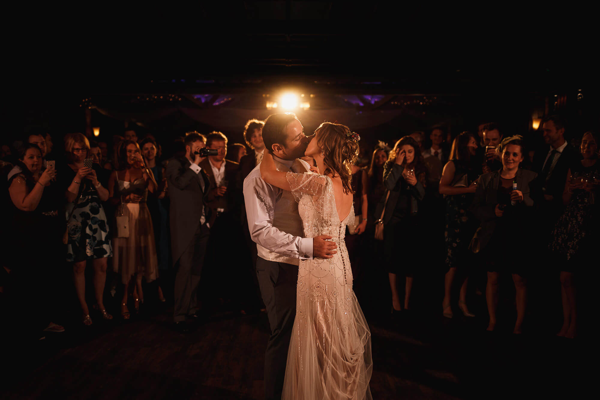 First dance At Bartle Hall Wedding