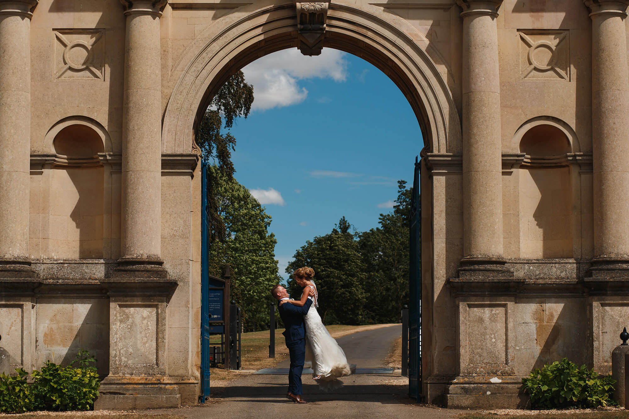 Burghley House Wedding