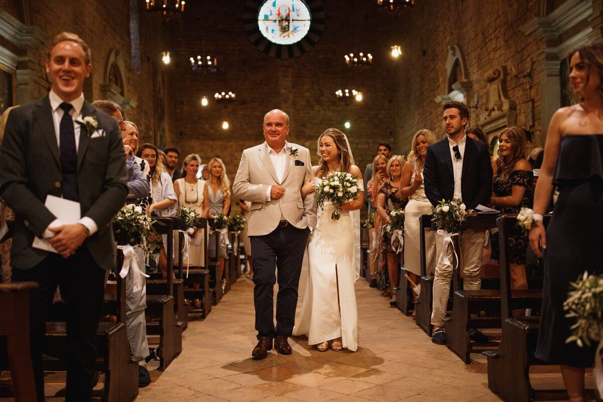 Beautiful Ceremonies In Tuscany Church