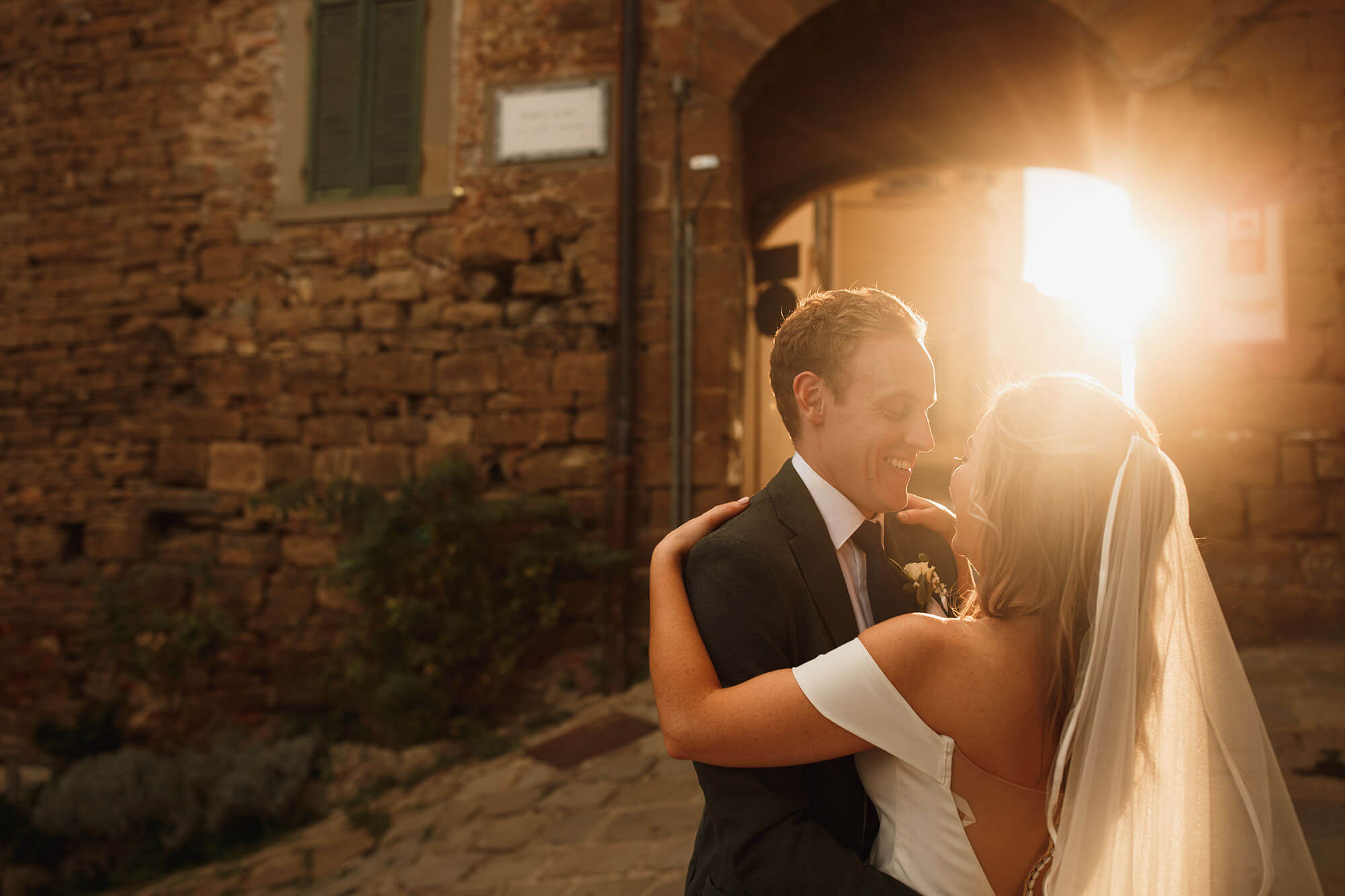 A Beautiful Tuscan Wedding