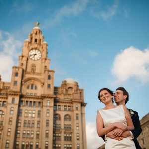 Liver Building Wedding Photographer