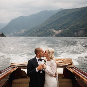 Lake Como Wedding Picture