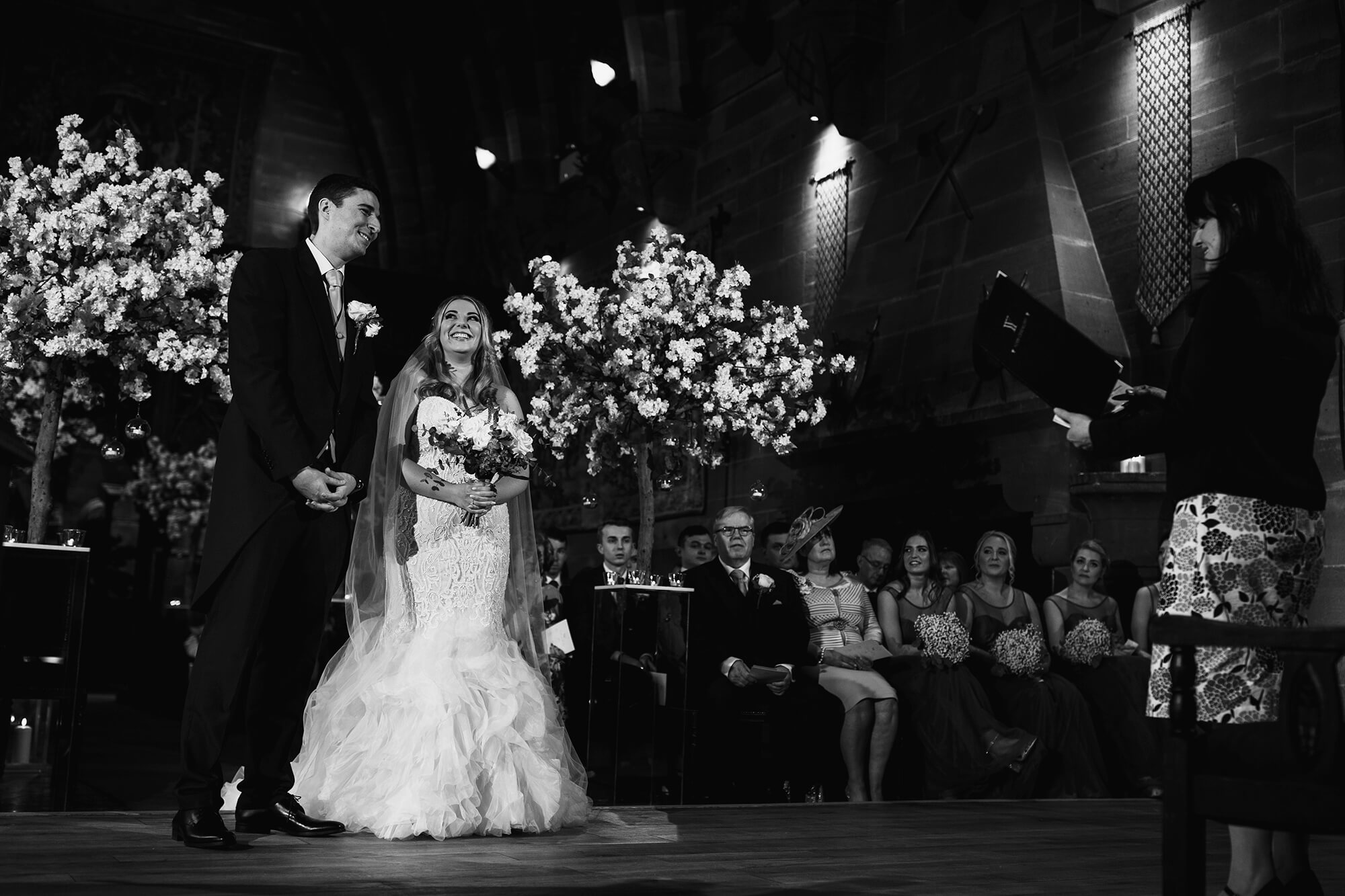 vows at peckforton castle