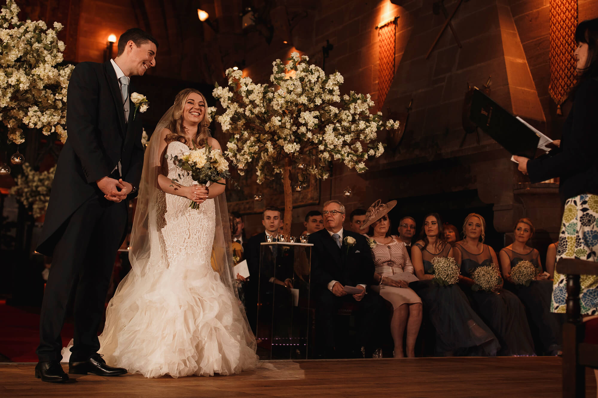 getting married at Peckforton Castle