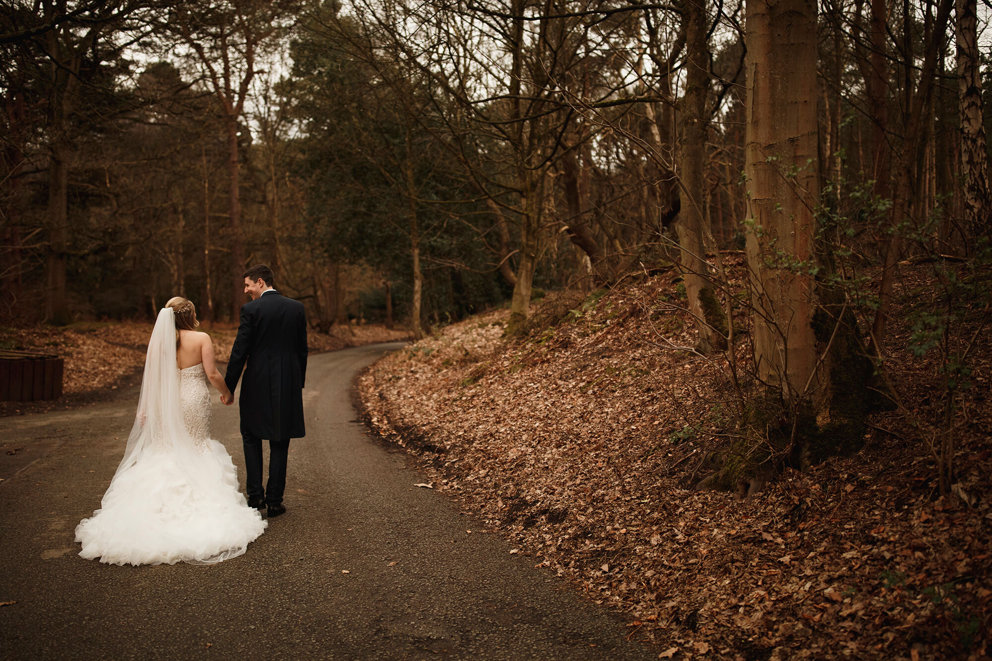 Cheshire wedding couple