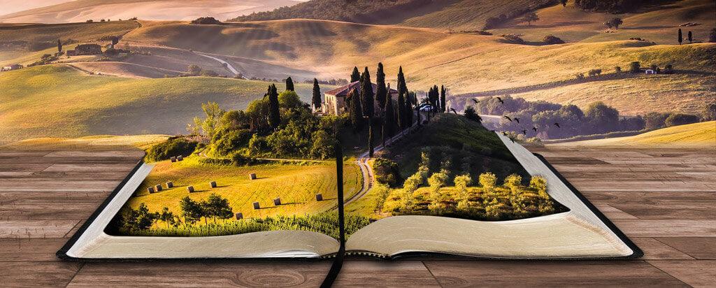 tajemná země z knihy