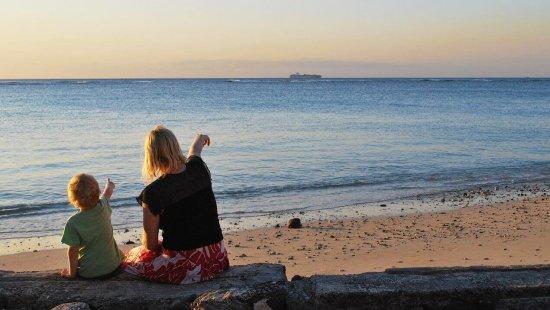 matka a syn u moře