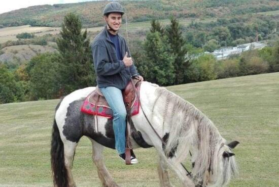 jezdec na koni z článku TOP zážitků na léto