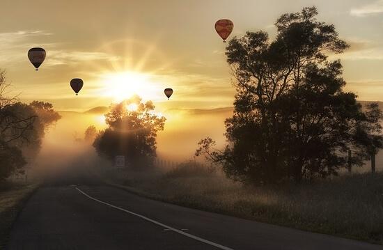 balony z článku TOP 10 zážitků na léto
