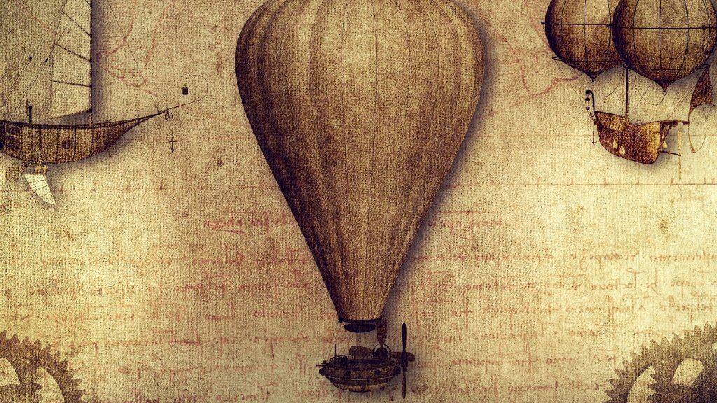titulni obrázek z článku historie letu balonem