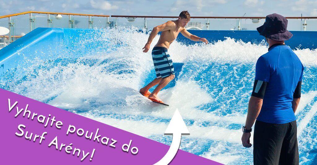 cervencovy soutez surf arena nahled