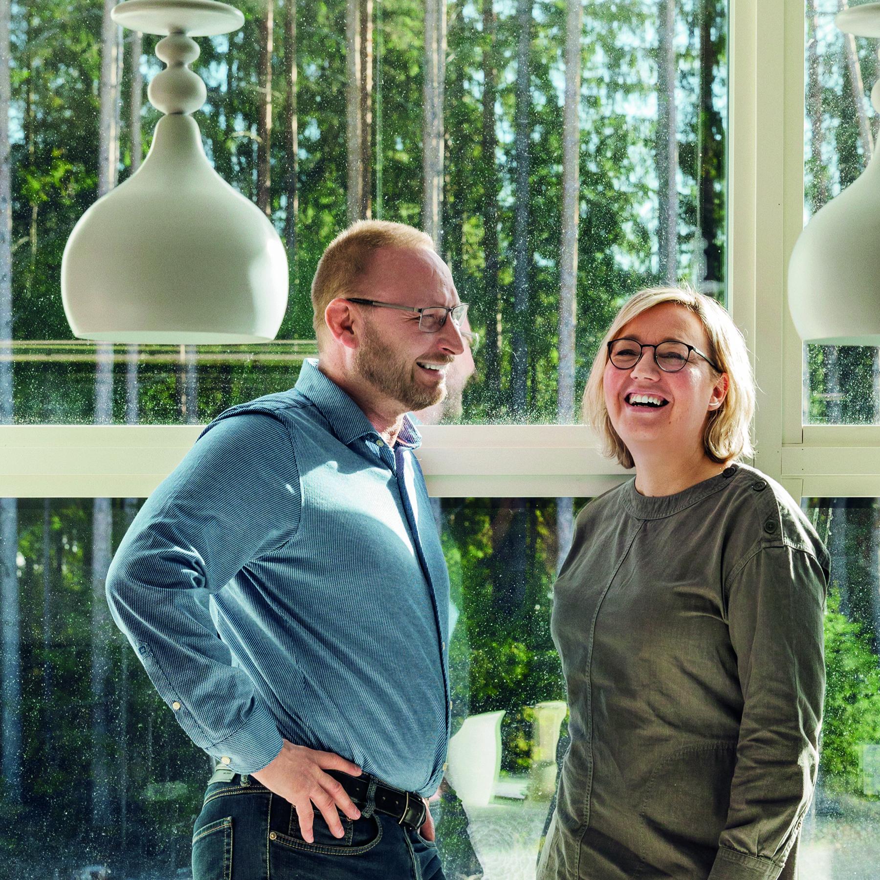Esko ja Jaana Hjelt Lapuan Kankureista