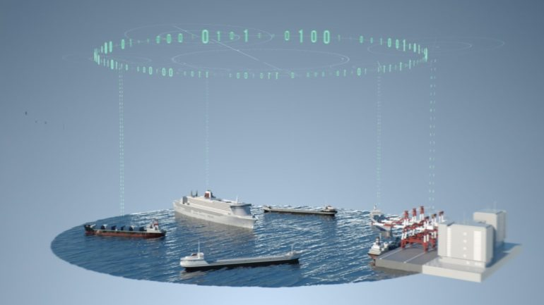 Sea Traffic Management STM efficient information exchange