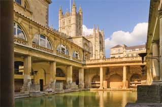 Places to visit outside London - includes Bath