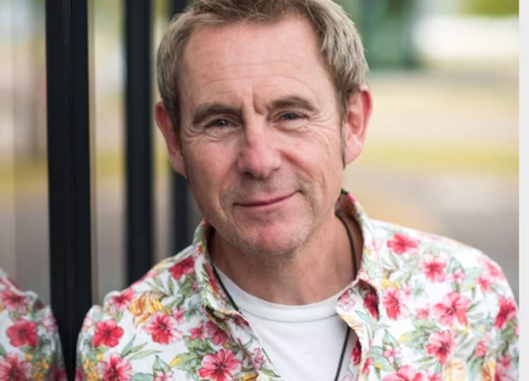 Nigel Barden promoting Berkofest on BBC Radio London