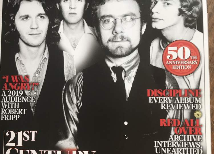 King Crimson Cover on this month's edition of Uncut Magazine