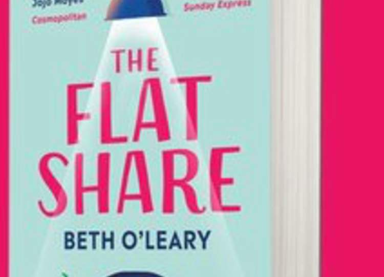 Beth O' Leary's  paperback  'Flatshare' in the Sunday Times Top 10
