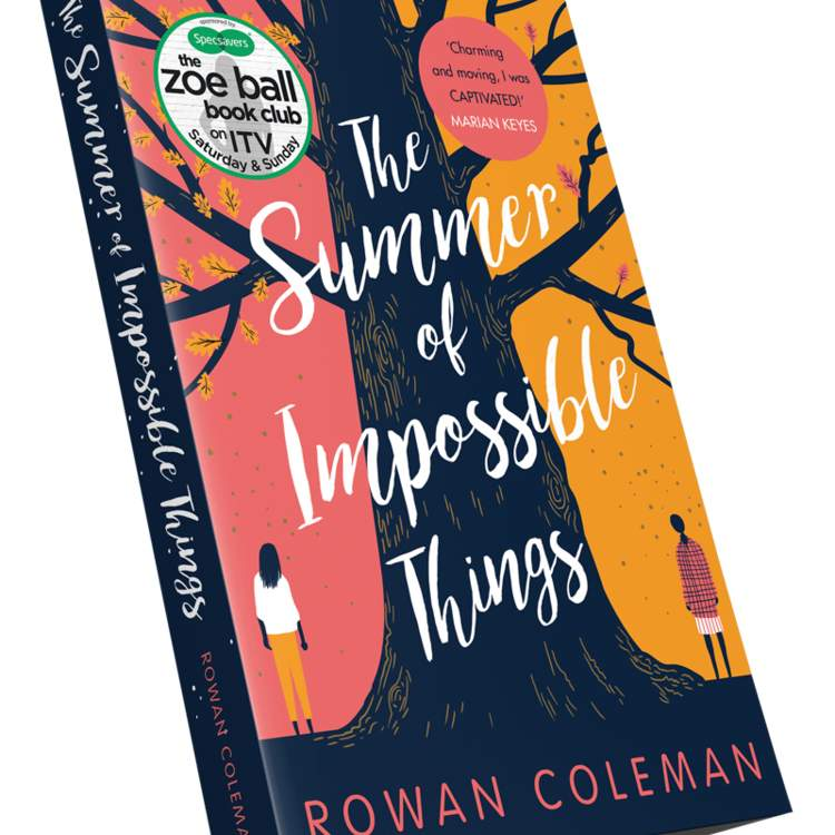 Rowan Coleman latest book was nominated for Zoe Ball book club