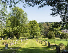 Rectory Lane Cemetery in Spring